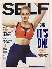 Self Magazine Jan / Feb 2017 Iskra Lawrence 28 Days of Fun Workouts Beauty Ideas