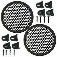 """Speaker Grill 8"""" Round shape, 4 each includes 16 plastic clamps and hardware"""