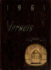 Mt. Vernon High School Illinois 1961 Vernois Yearbook Annual Mount Vernon IL
