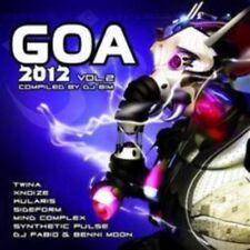 Goa 2012 Vol. 2 (SEALED 2xCD) Twina Sideform DJ Fabio Kularis Corona Sun Project