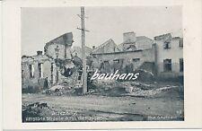 Foto/AK  Brzezany/Galizien -zerstörte Strasse durch die Russen 1.WK  (h816)