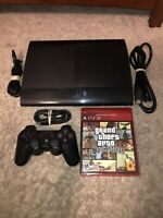 Sony PlayStation 3 PS3 Super Slim 250GB Bundle Console CECH-4001B