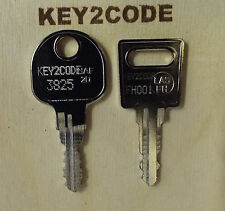 Replacement Hafele keys Cut to Code - filing cabinets, lockers, desks, tambour,