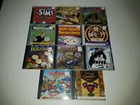 PC Game Lot of 11 Vintage - Great Condition - BB14