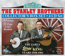 Early Years 1958-1961 - Stanley Brothers (2011, CD NIEUW)4 DISC SET