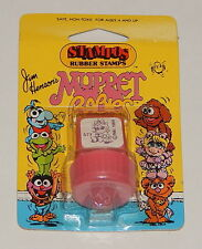 1984 *Vintage* STAMPOS Rubber Stamps Muppets Babies: Baby Mrs. Piggy Pink R8052