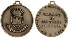 Medaglia Associazione Nazionale Genieri Trasmettitori Raduno Chiavari 1972 #D754