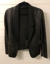 Alexander Wang 100% Leather Jacket 0