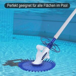 Poolsauger Automatisch Poolreiniger Pool Bodensauger Boden Reiniger Cleaner