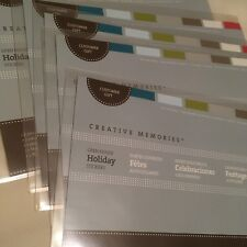 Creative Memories Open House Holiday Stickers Customer Gift