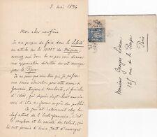 ✒ [Ambroise THOMAS & Mignon] L.A.S Victorin de JONCIERES compositeur critique