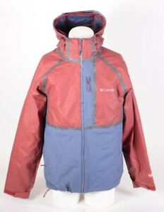 MENS COLUMBIA OUTDRY ROGUE INTERCHANGE JACKET $280 M Drk Mtn/ Red USED