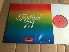 V/A - FESTIVAL '73 - KING PING MEH / EPITAPH / NIGHT SUN / JAMES LAST - 2 LP