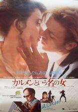 PRENOM CARMEN Japanese B2 movie poster B JEAN-LUC GODARD 1984 NM OGASAWARA Art
