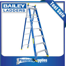 Bailey Ladders 2.1-3.8m 150KG 7 Step Extension Ladder Fiberglass FSE7 FS10445