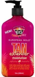 European Gold Tan Extender 18oz Moisturizer (Gradual Bronzing Lotion) *NEW*