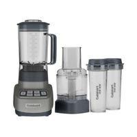 Cuisinart Velocity Ultra Blender and Food Processor with Travel Cups Gun Metal