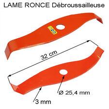 Debroussailleuse piece Lame incurvée spéciale ronce Ø 320 mm epaisseur 3 mm