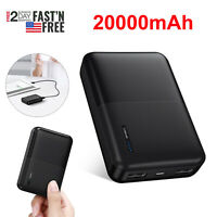 5V/2.1A 20000mAh Power Bank Portable External Battery Charger for Cell Phone