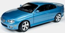 2004 Pontiac GTO Bermuda Blue 1:18 Auto World 1025