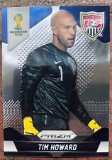 Tim Howard USA World Cup Panini 2014 Prizm Soccer Card-
