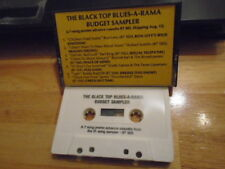 RARE PROMO Black Top Blues-A-Rama CASSETTE TAPE sampler Ron Levy RONNIE EARL 7tr