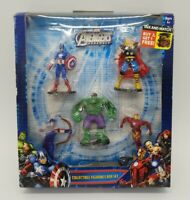 Avengers Assemble Collectible Figurines Box Set 2012 New in Box 5 Figures Topper