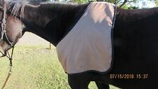 Harrys Horse schweifschoner negro acolchado con velcro