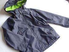H&M SPORT Tolle Übergangsjacke jeansblau neongrünes Futter Gr.128