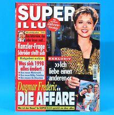 Super Illu 1-1997 | 23.12.1997 Dagmar Frederic Gerhard Schröder Erich Mielke