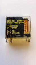 GRUNER D280A-R200A-G0020A/01 12VDC Relay