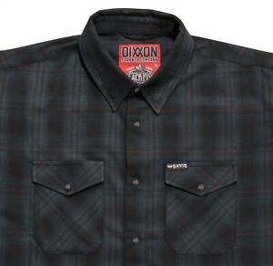 DIXXON BlackFlys Collab Mens XL Black Flys Phantom Flannel BNIB 🛠New Release🛠