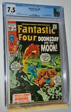 Marvel Comics The Fantastic Four #98 May 1970 CGC 7.5 Doomsday on the Moon!