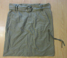 BUFFALO David Bitton Cotton Blend Skirt with Belt  Women's Size 33