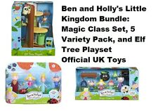 Ben And Holly's Little Kingdom Bundle: Magic Class, Elf Tree, and 5 Figure Set