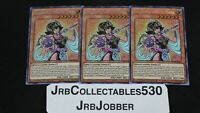 YUGIOH! PALLADIUM ORACLE MANA TN19-EN004 X3 PRISMATIC SECRET RARE!
