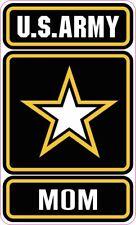 US ARMY MOM VINYL DECAL STICKER DECAL GO ARMY