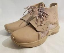 Puma Fenty by Rihanna Trainer Hi Sesame Tan Sneakers Women Size 8.5 New