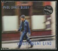 PAUL JAMES BERRY Independent Land 5 TRACK CD SINGLE ROSE OF AVALANCHE *