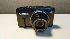 Canon PowerShot SX280 HS 12.1MP Digital Camera - Black
