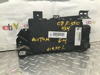 2008 FORD F350 6.4 4X4 AUTOMATIC fuse box gem module part# 7c3t-15604-cp as12135