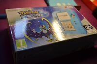 Nintendo Pokemon Moon Handheld Console 2DS - Blue Special edition - UK FAST SHIP