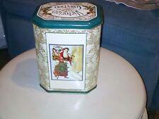 Victorian Collection Christmas Yuletide Keepsake Tin (Made in U.K.)