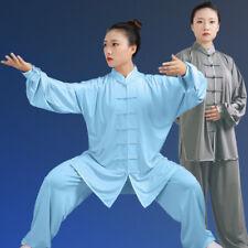 Chinese Tai Chi Kung Fu Uniform Martial Arts Uniform Wushu Taiji Suit Milk Silk