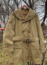 Vintage 1942's WWII US ARMY MACKINAW O.D. Deck Uniform Jacket Jeep Coats. Rare