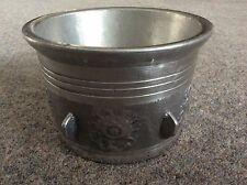 MIDDLE EASTERN  ? PEWTER ? ICE BUCKET / WINE COOLER