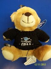 Grad Bear Balloon Bouquet Graduation Party Gift Stuffed Animal Teddy - Black