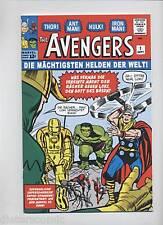 AVENGERS # 1 - GERMAN REPRINT / VARIANT - MARVEL - Z. 1-2