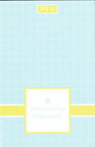 WILL YOU BE MY BRIDESMAID CARDS The Knot Wedding Print