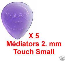 5 Médiators Taille 2 mm couleur Lavande Touch Small
